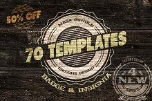 70 Logo / Badge / Insignia Templates