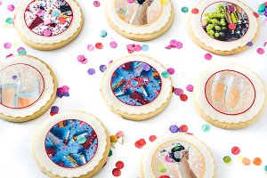 New Year cookies