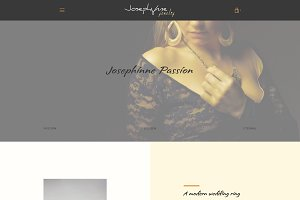 Josephynne Jewelry - Shopify Theme