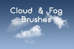 40 Cloud and Fog and Mist Brushes