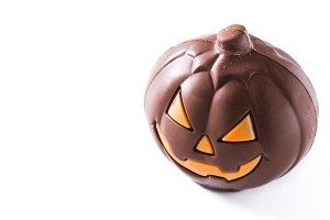 Chocolate Halloween pumpkin
