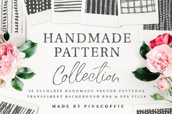 Patterns: Pink Coffie - Handmade Pattern Collection Vol.1