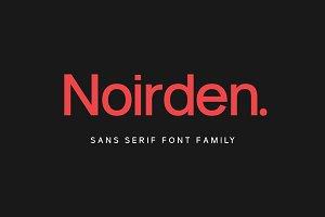 Noirden Sans Font
