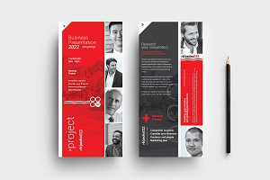 Swiss Style DL Card Template