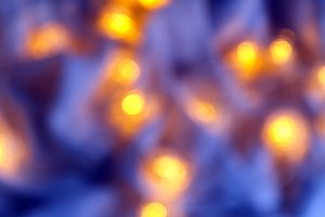 Background of blurry blue-blue light