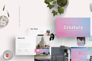 Creatura - Powerpoint Template
