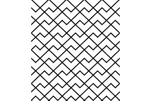 The geometric pattern with