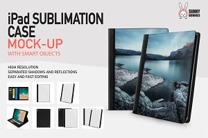 iPad SUBLIMATION CASE MOCK-UP