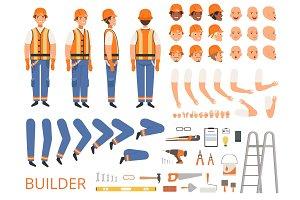 Engineer character animation. Body