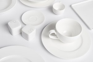 close up image of different plates,