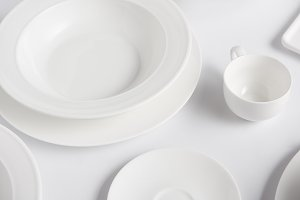 selective focus of different plates