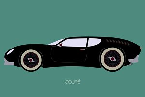 european car fully editable
