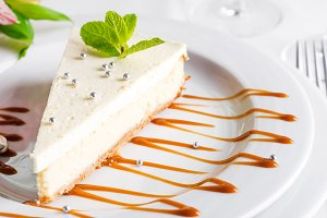 Classical New York Cheesecake with