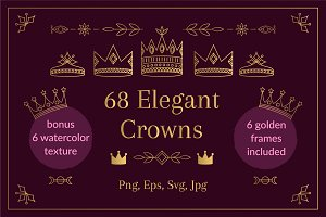 68 Elegant Crowns
