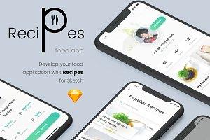 Recipes Food App