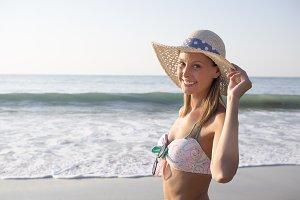 Beauty Portrait at beach