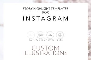 CUSTOM ORDER Instagram Highlights
