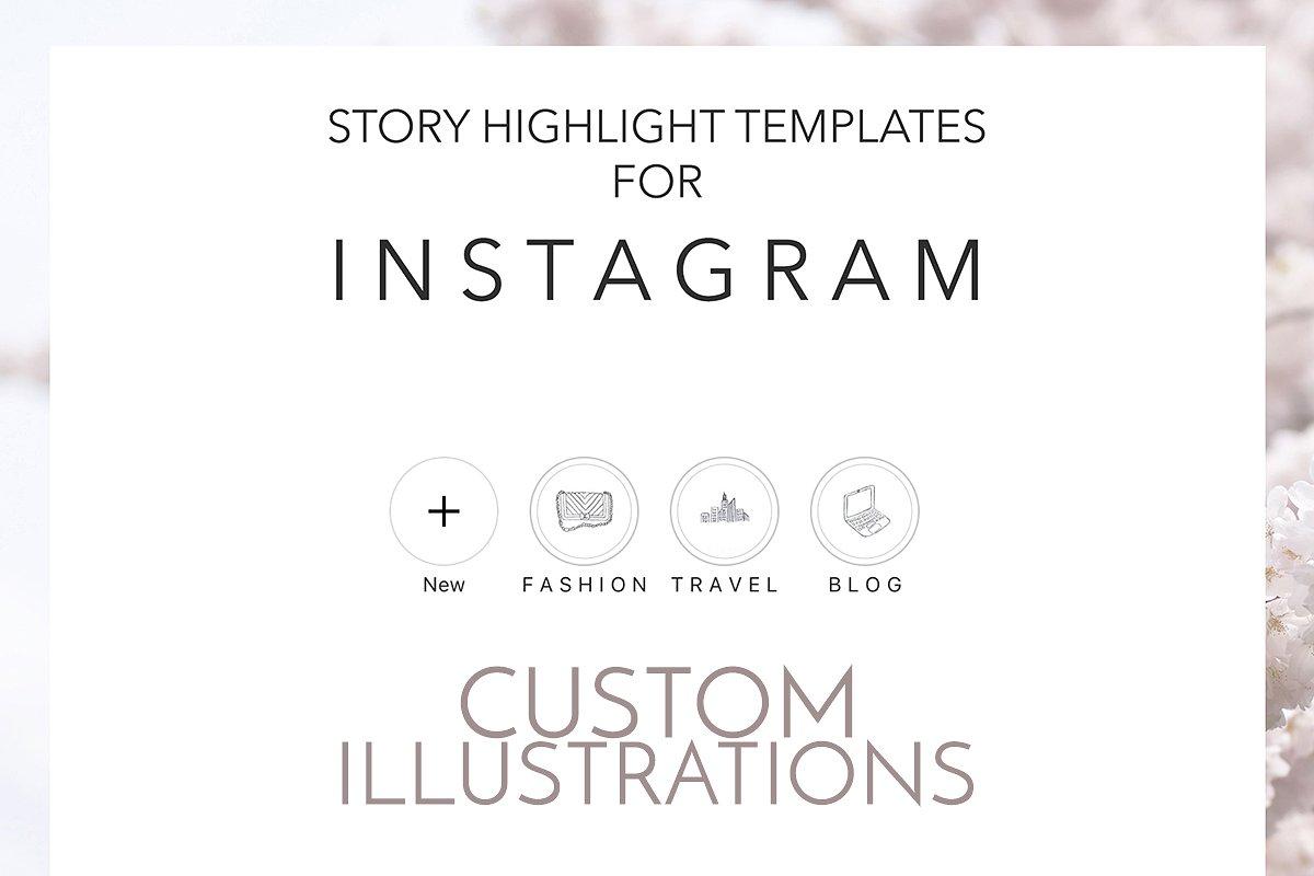 CUSTOM ORDER Instagram Highlights ~ Instagram Templates
