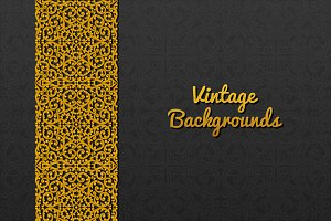 Backgrounds with vintage ornament