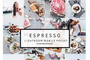 Mobile Lightroom Preset ESPRESSO