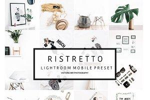 Mobile Lightroom Preset RISTRETTO