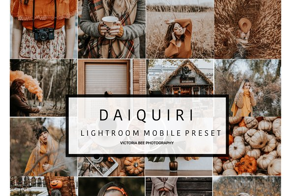Mobile Lightroom Preset DAIQUIRI