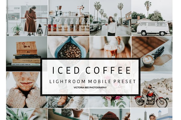 Mobile Lightroom Preset ICED COFFEE…
