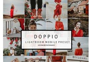 Mobile Lightroom Preset DOPPIO