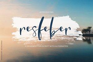 Resfeber Script