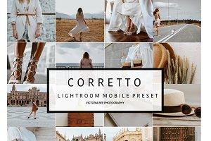 Mobile Lightroom Preset Corretto