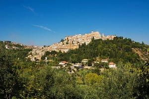 Loreto Aprutino, a medieval town in