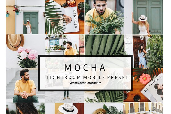 Mobile Lightroom Preset MOCHA