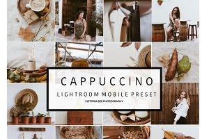 Mobile Lightroom Preset CAPPUCCINO