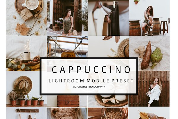Mobile Lightroom Preset CAPPUCCINO