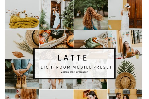 Other Software: Victoria Bee Presets - Mobile Lightroom Preset Latte