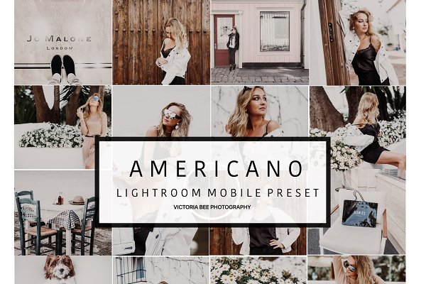 Mobile Lightroom Preset AMERICANO