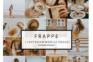 Mobile Lightroom Preset Frappe