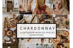 Mobile Lightroom Preset CHARDONNAY