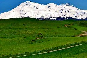 Road trip springboard, mountain