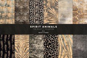Spirit Animals Golden Graphics