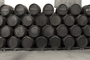 Barrels for Whisky or wine