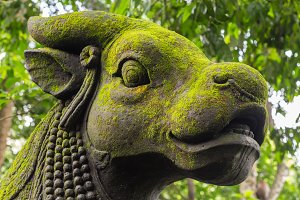 Traditional Balinese stone sculpture