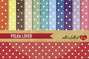 Retro Dotted Background Pattern