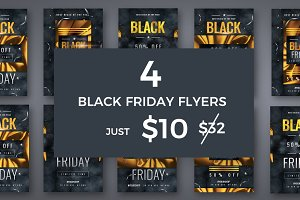 Black Friday Golden Flyers Bundle