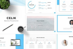 Celik Keynote Template