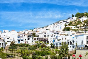 Frigiliana in Andalusia, Spain