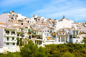 Frigiliana in Andalusia, Spain.