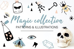 MAGIC illustrations and patterns