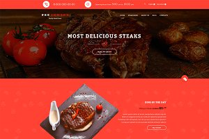 Steak House — HTML5 Template