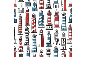 Lighthouse and beacon pattern